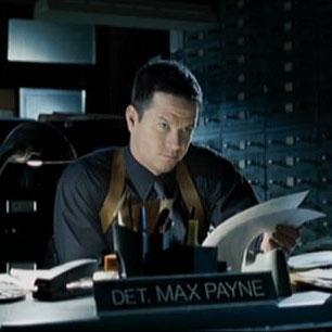 Max Payne at his desk